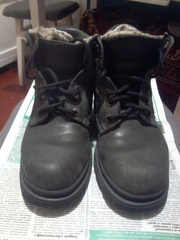 Шкіряні зимові черевики. кожаные зимние ботинки.1 ... ef0f5a1607bd5