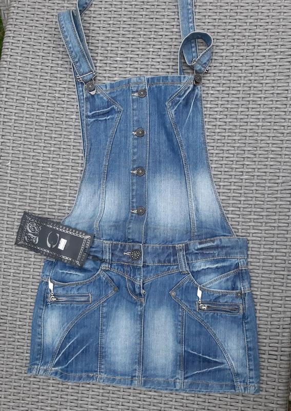 Комбинезон джинсовый с юбкой песочник турция Турция, цена - 580 грн, #43998095, купить по доступной цене | Украина - Шафа