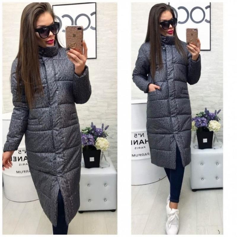 Пальто зимнее серое , пуховик , куртка, цена - 620 грн, #44228567, купить по доступной цене | Украина - Шафа