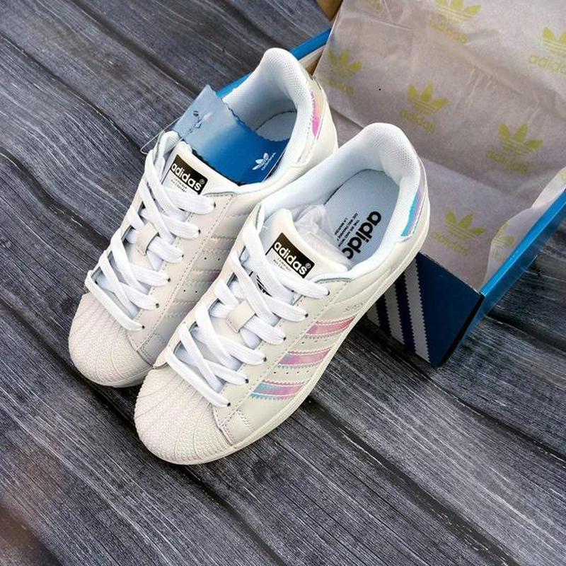 Кроссовки женские adidas superstar адидас суперстар белые натуральная кожа1  ... 39cdb91ac6c0f