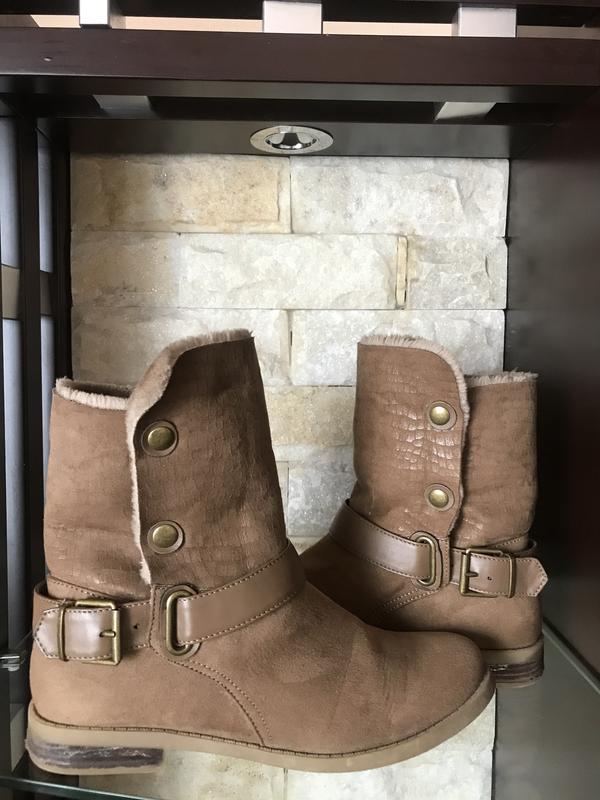 Ботинки,кожа,мех Next, цена - 550 грн, #44567844, купить по доступной цене | Украина - Шафа