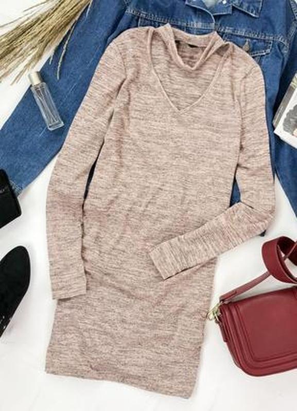 Трикотажное платье с чокером  dr 1945072  f&f F&F, цена - 173 грн, #45017281, купить по доступной цене | Украина - Шафа