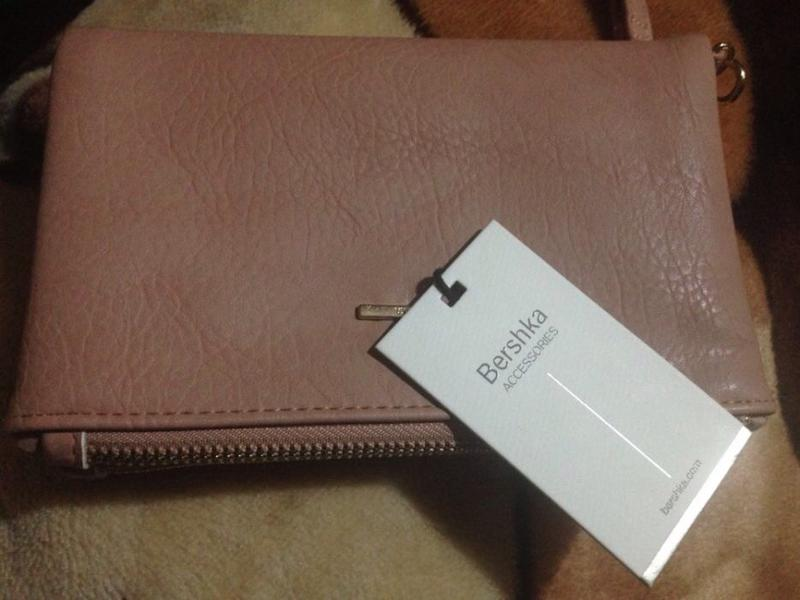 5e2474cf7294 Пудровый кошелёк bershka Bershka, цена - 450 грн, #5243122, купить ...