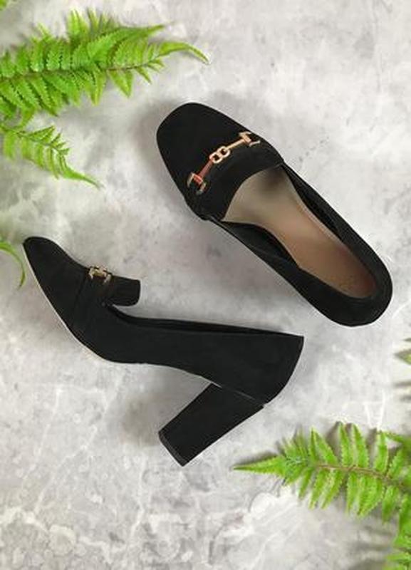 Стильные туфли на устойчивом каблуке  sh1933070 asos ASOS, цена - 450 грн, #45174570, купить по доступной цене | Украина - Шафа