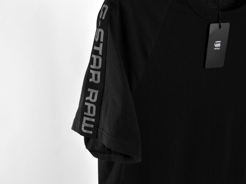 G-star raw мужская футболка с лампасами made in bangladesh, оригинал! G-Star Raw, цена - 650 грн, #45198859, купить по доступной цене | Украина - Шафа