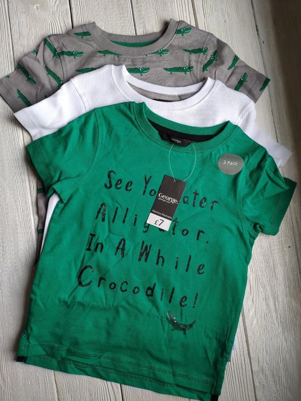 Футболка набор футболок 3 шт george George, цена - 300 грн, #45417139, купить по доступной цене   Украина - Шафа