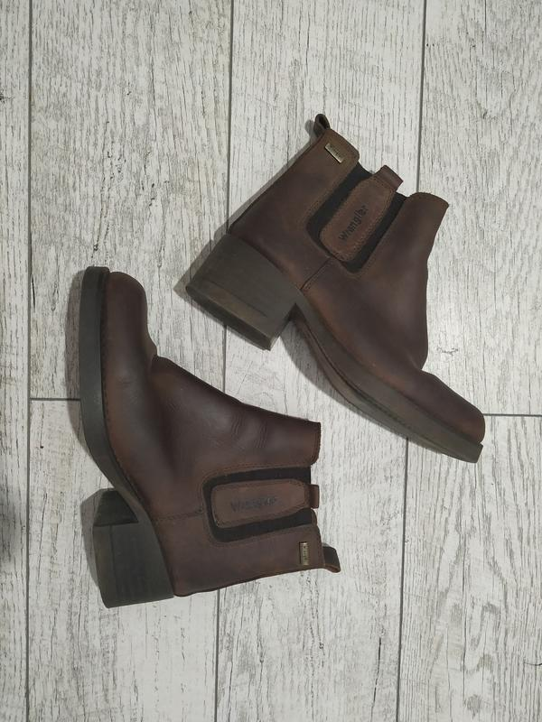 Ботинки кожанные wrangler, винтажные ботильйоны Wrangler, цена - 349 грн, #45447945, купить по доступной цене | Украина - Шафа
