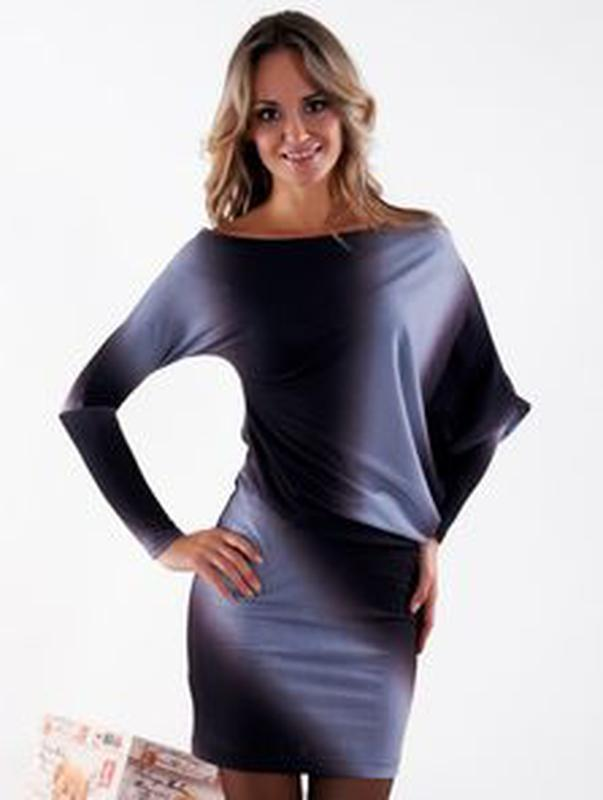 40ed18c6be7 Черное дизайнерское платье-футляр ассиметрия можно и беременной 2-3 хл наш  50 521 ...