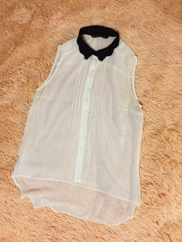 f740a599ae5 Прозрачная блузка zara ZARA