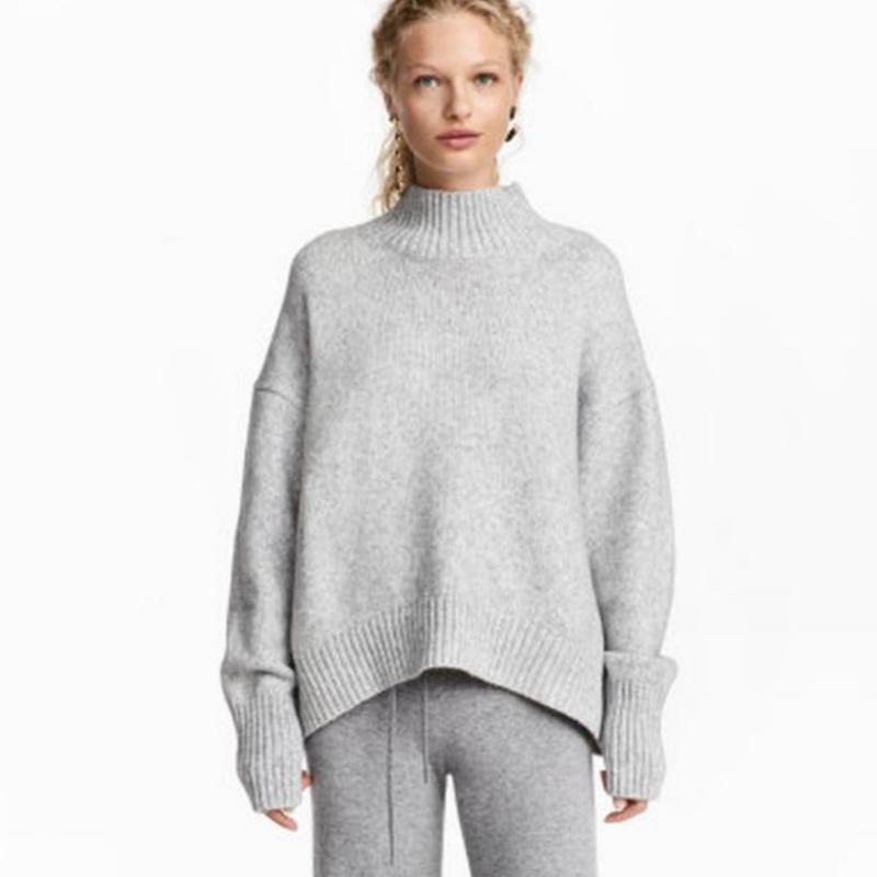 Шерстяной свитер оверсайз oversize осенний базовый тёплый зимний H&M, цена - 130 грн, #46018515, купить по доступной цене | Украина - Шафа