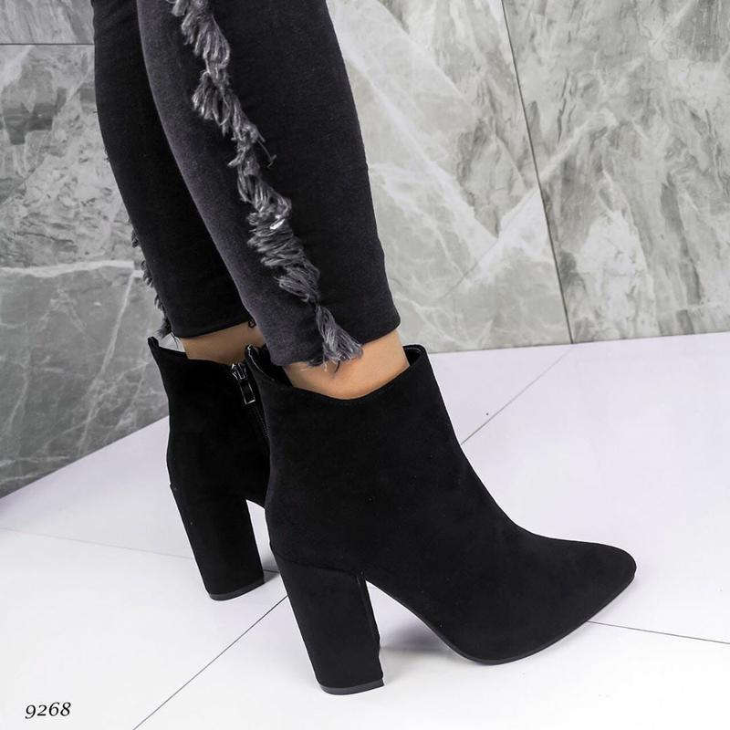 Женские ботинки осень каблук осенние модельные ботильоны New Collection, цена - 609 грн, #46023367, купить по доступной цене | Украина - Шафа