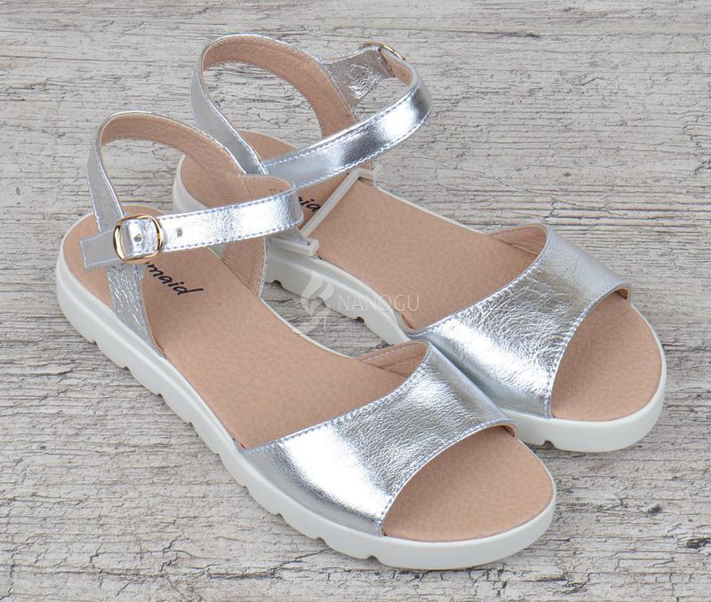 6ca05aa2243e Босоножки женские кожаные украина серебро на платформе great shoes за 499  грн. | Шафа