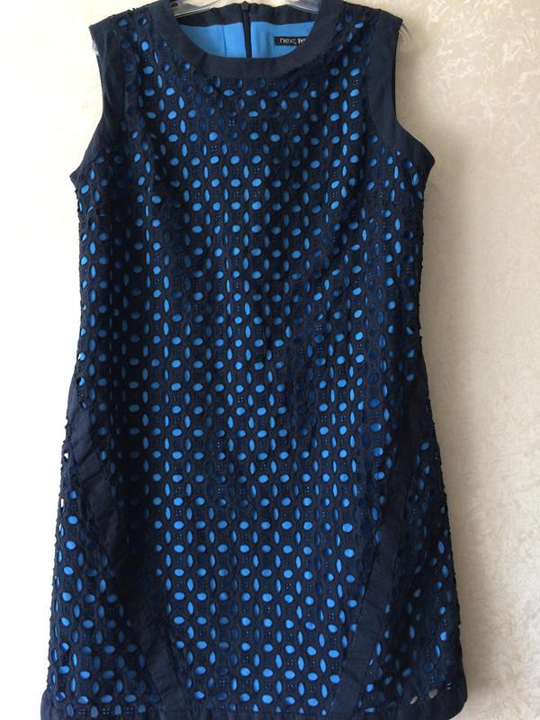 Платье next кружевное