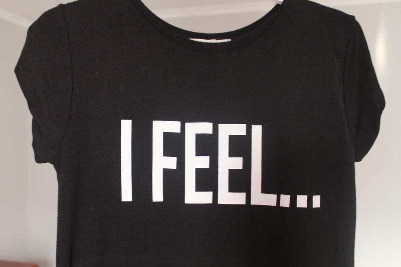 Cтильна чорна футболка1 ... 58c3e304178be