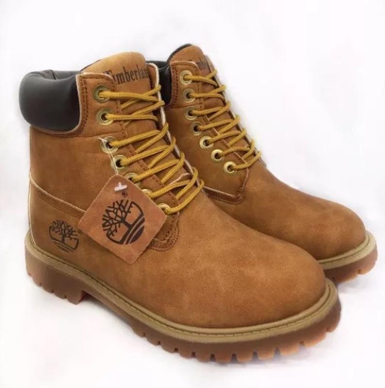 Мужские зимние ботинки в стиле timberland с мехом: купить по доступной цене в Киеве и Украине | SHAFA.ua