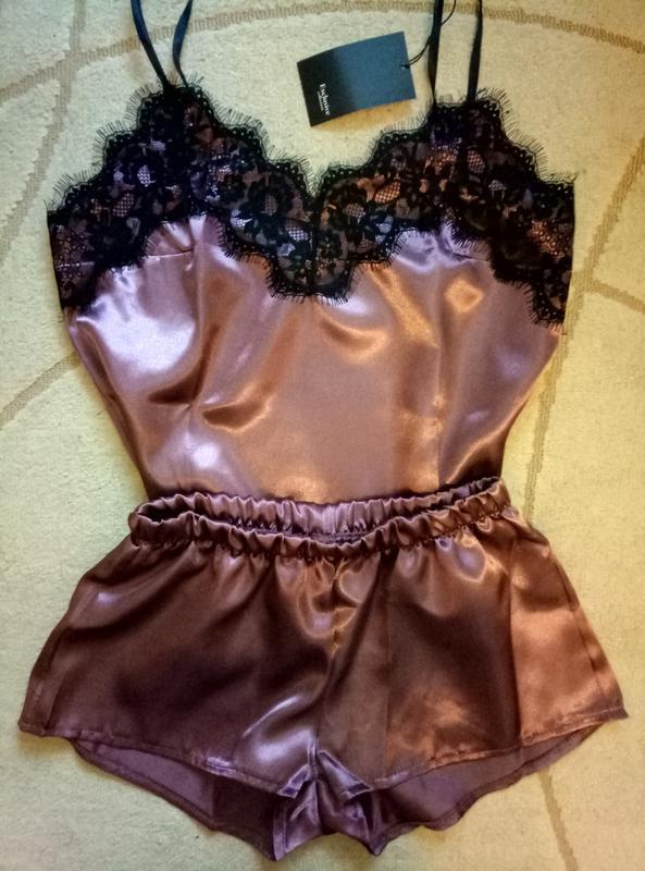 c8dd0dc7c860f Женский атласный комплект майка и шорты, цена - 199 грн, #5383366 ...