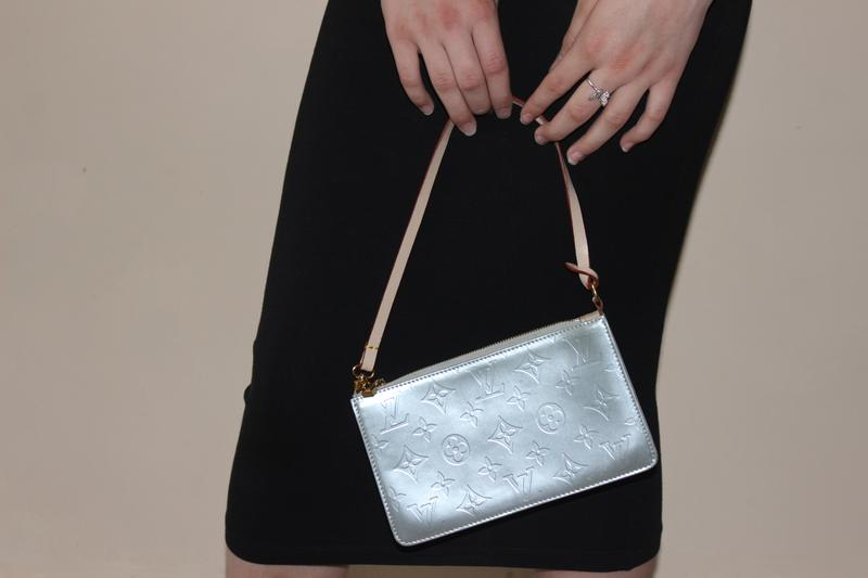 f1b44e8866e0 Louis vuitton сумка клатч серебристая натуральная кожа луи витон1 фото ...
