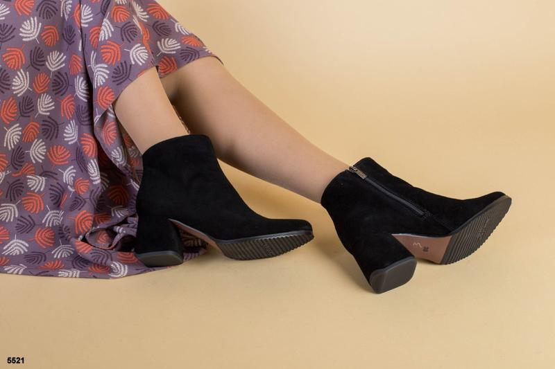 Шикарные женские ботинки из натуральной замши, цена - 1850 грн, #46276082, купить по доступной цене | Украина - Шафа
