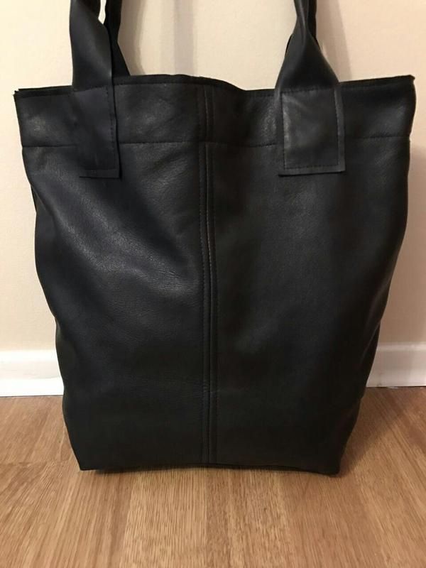 70ba2fd64ed7 Кожаная сумка, шоппер новая, мягкая и удобная, кожа италия! акция!1 ...