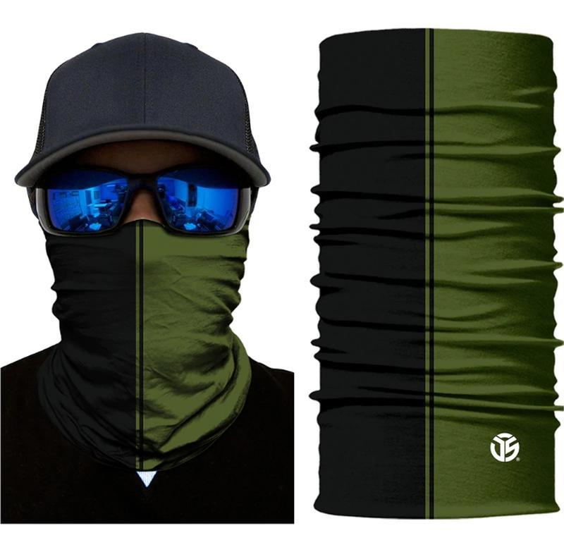 Бафф легкий бесшовный черный хаки; бандана вело маска шарф унисекс, цена - 200 грн, #46463173, купить по доступной цене | Украина - Шафа
