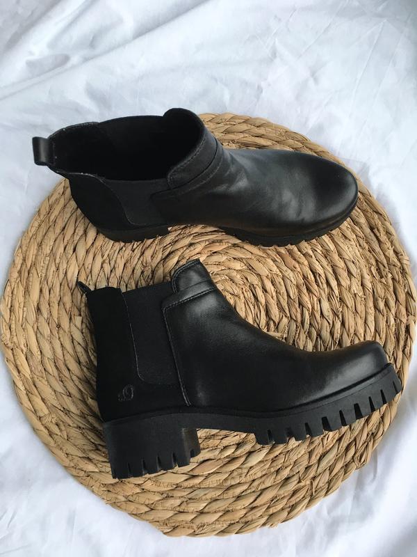 Кожаные ботинки s.oliver S.Oliver, цена - 1159 грн, #46602004, купить по доступной цене | Украина - Шафа
