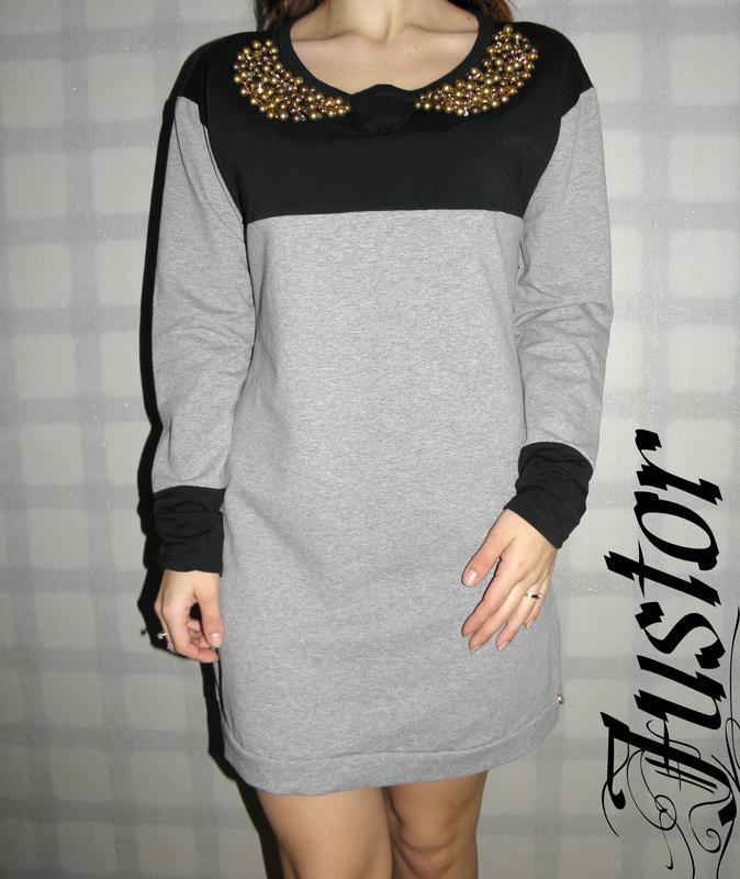 e6418b081a8 Платье justor италия франция сукня с длинным рукавом Justor