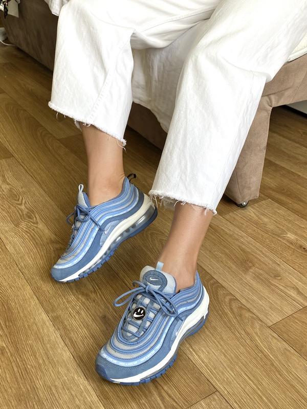 Nike air max 97 женские кроссовки синие оригинал 37 uk5 38 adidas Nike, цена - 1200 грн, #46929342, купить по доступной цене | Украина - Шафа