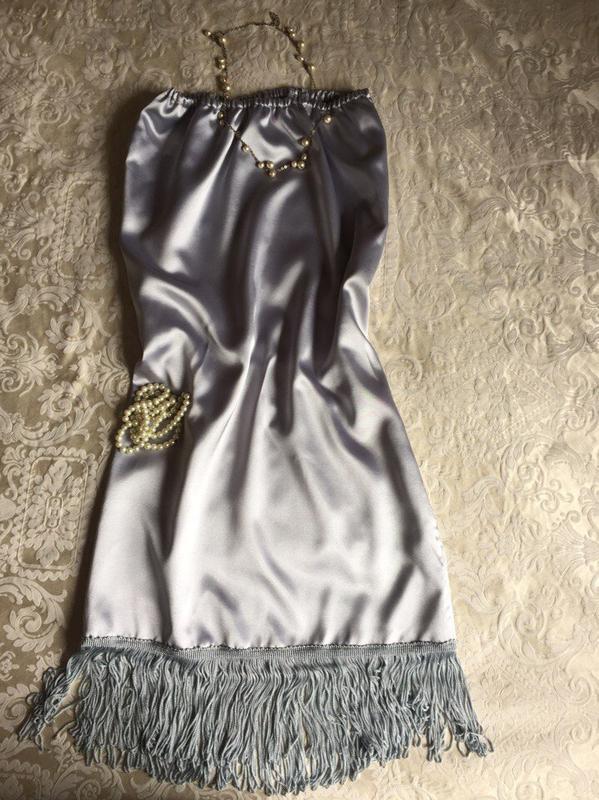 0bcfc62a7f0 ... Шикарное атласное платье в стиле кабаре