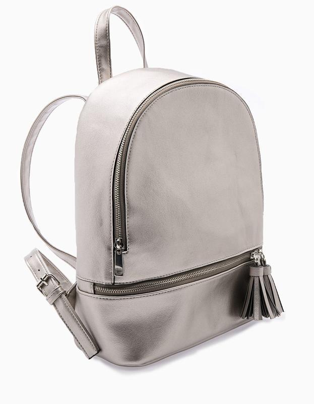 Рюкзак stradivarius new бронза рюкзачок сумка ранец Stradivarius ... e394218ef95