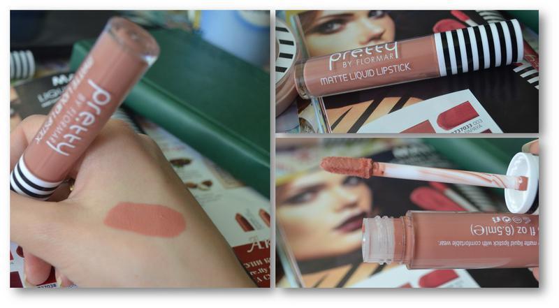 матовая жидкая губная помада Matte Liquid Lipstick от Pretty Flormar