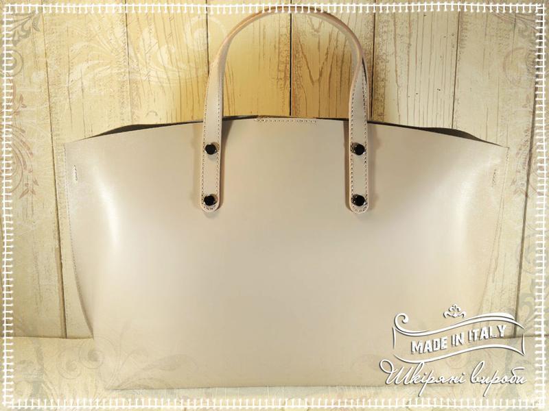 Італійська шкіряна сумка кльору пудра.1 cce8b134f95b5