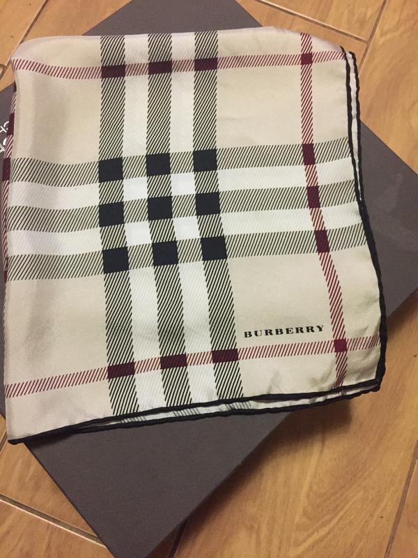 Шейный платок burberry, шёлк, оригинал Burberry, цена - 300 грн ... 5b158587e90