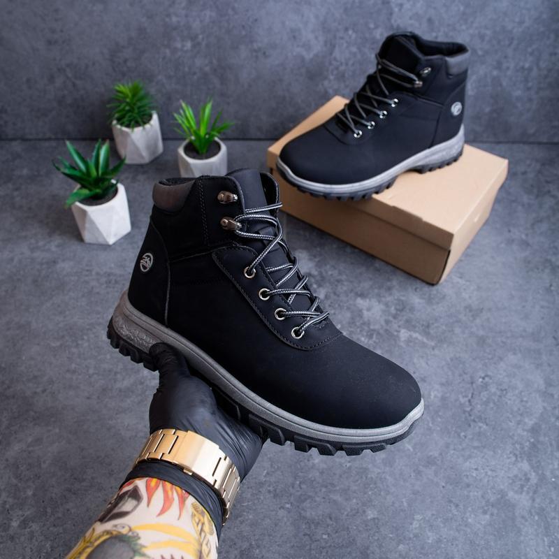Мужские зимние черные ботинки: купить по доступной цене в Киеве и Украине | SHAFA.ua