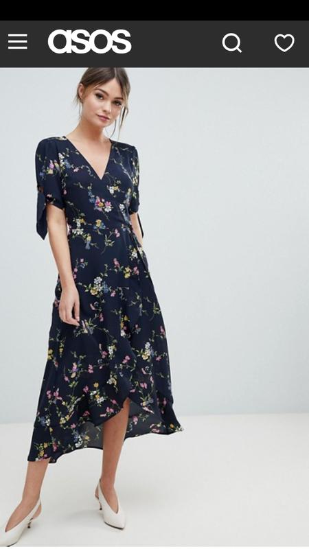 Oasis платье миди на запах Oasis, цена - 400 грн, #47940796, купить по доступной цене | Украина - Шафа