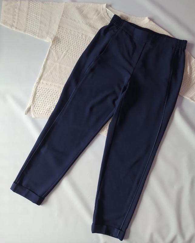 Синие брючки штаны манго р.л-хл Mango, цена - 149 грн, #47951834, купить по доступной цене | Украина - Шафа