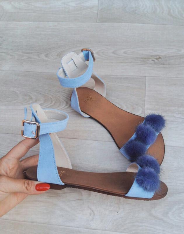 524a32fd3 Замшевые, кожаные , босоножки, сандалии с мехом, размеры 34-42, цена ...