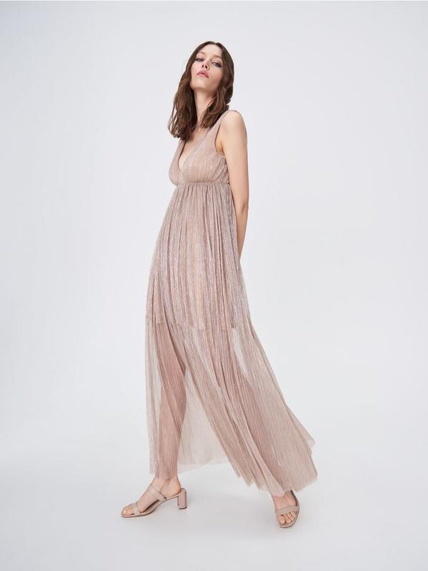 Платье  макси из мерцающей ткани sinsay SinSay, цена - 350 грн, #47972790, купить по доступной цене | Украина - Шафа