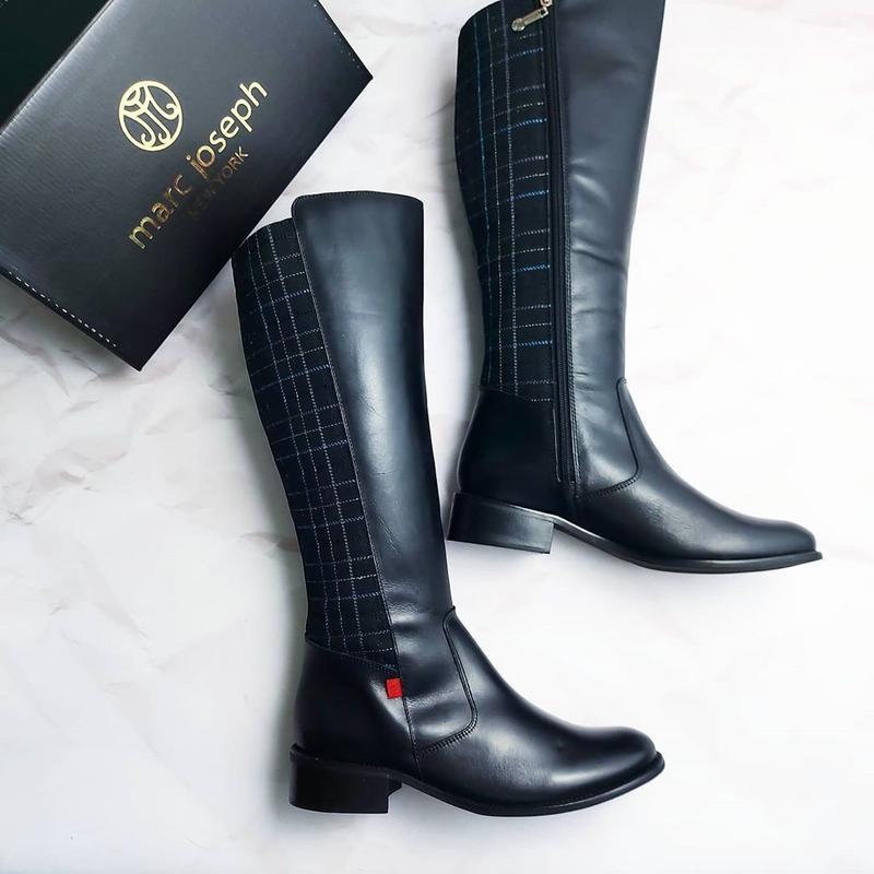 Marc joseph ny оригинал черные кожаные сапоги Marc New York, цена - 3000 грн, #48019126, купить по доступной цене   Украина - Шафа