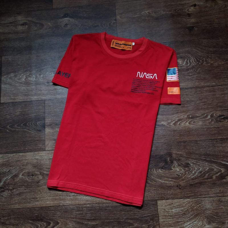 Ярко-красная футболка nasa heron preston usa Usa Pro, цена - 200 грн, #48030908, купить по доступной цене | Украина - Шафа