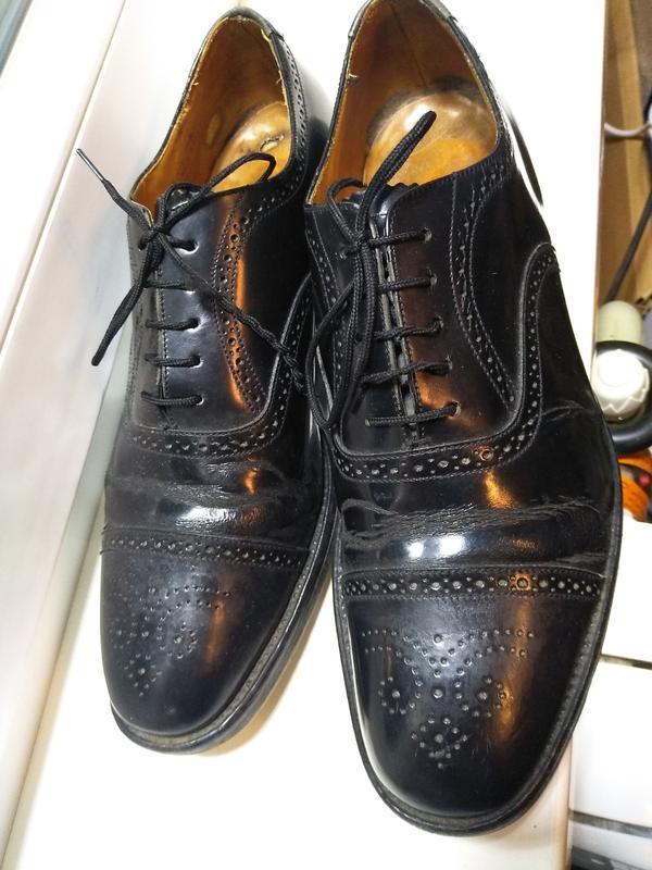 Кожаные туфли англия, uk9,5 размер 43,5 стелька 28,5 см: купить по доступной цене в Киеве и Украине | SHAFA.ua