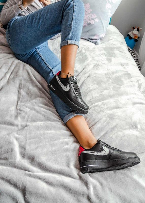 Женские кроссовки nike air force 1 low black осень зима Nike, цена - 1520 грн, #48098153, купить по доступной цене | Украина - Шафа