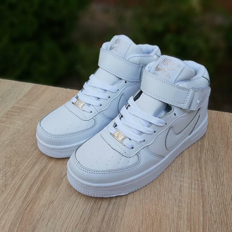 Nike air force белые высокие с мехом Nike, цена - 970 грн, #48103119, купить по доступной цене | Украина - Шафа