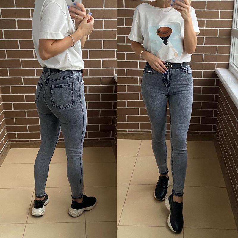 Сірі джинси , новинка Турция, цена - 575 грн, #48124905, купить по доступной цене | Украина - Шафа