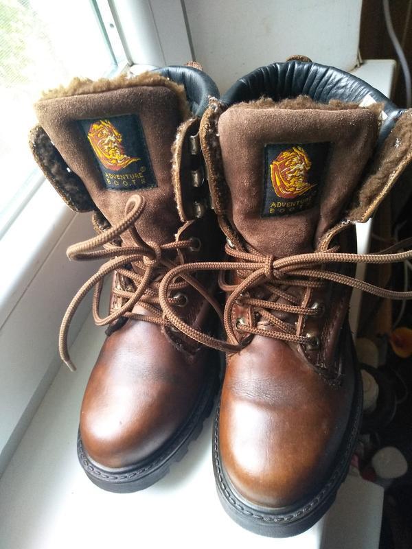 Туристические ботинки  adventure кожа мех 36 р. стелька 23 см Ecco, цена - 180 грн, #48142558, купить по доступной цене | Украина - Шафа