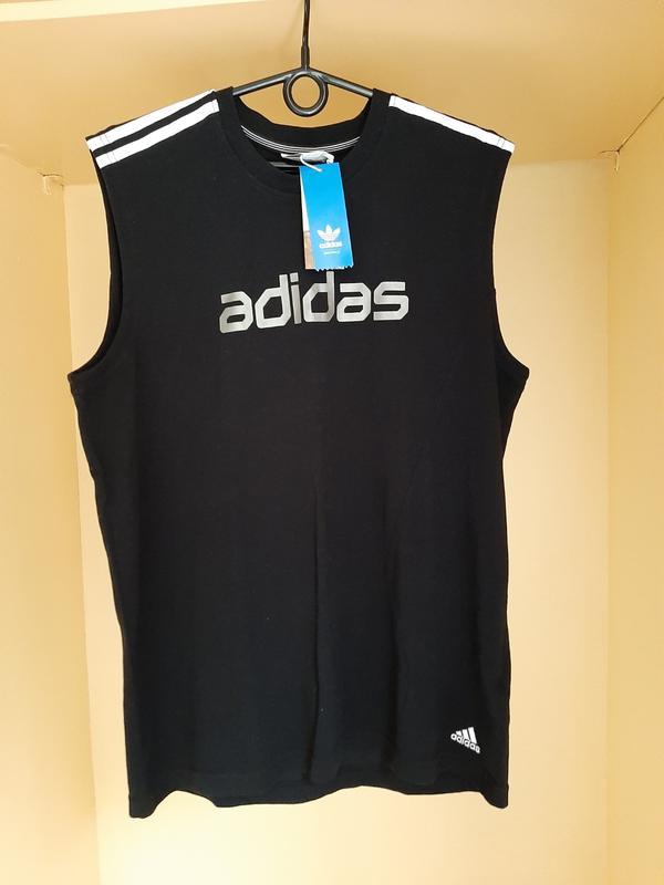 Майка Adidas, цена - 100 грн, #48153437, купить по доступной цене   Украина - Шафа