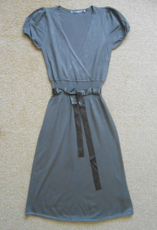 палантин из органзы для вечернего платья