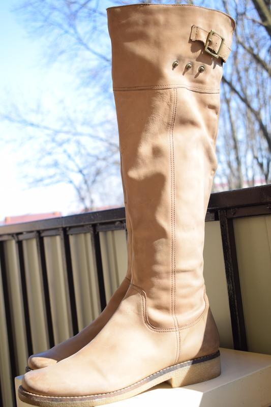 Кожаные зимние сапоги еврозима ботфорты am shoe р.42 27,5 см германия Германия, цена - 500 грн, #48207405, купить по доступной цене | Украина - Шафа