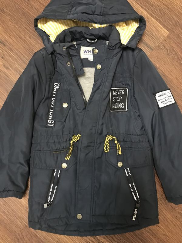 Тёплая осенняя куртка, цена - 200 грн, #48226286, купить по доступной цене | Украина - Шафа
