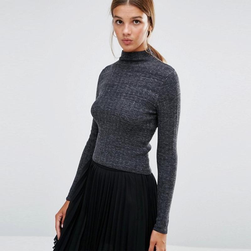 Новый серый свитер водолазка в рубчик new look New Look, цена - 250 грн, #48228730, купить по доступной цене | Украина - Шафа
