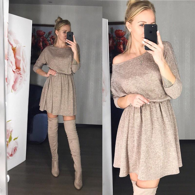 ?нежное платье с ангоркой, цена - 449 грн, #48231665, купить по доступной цене | Украина - Шафа